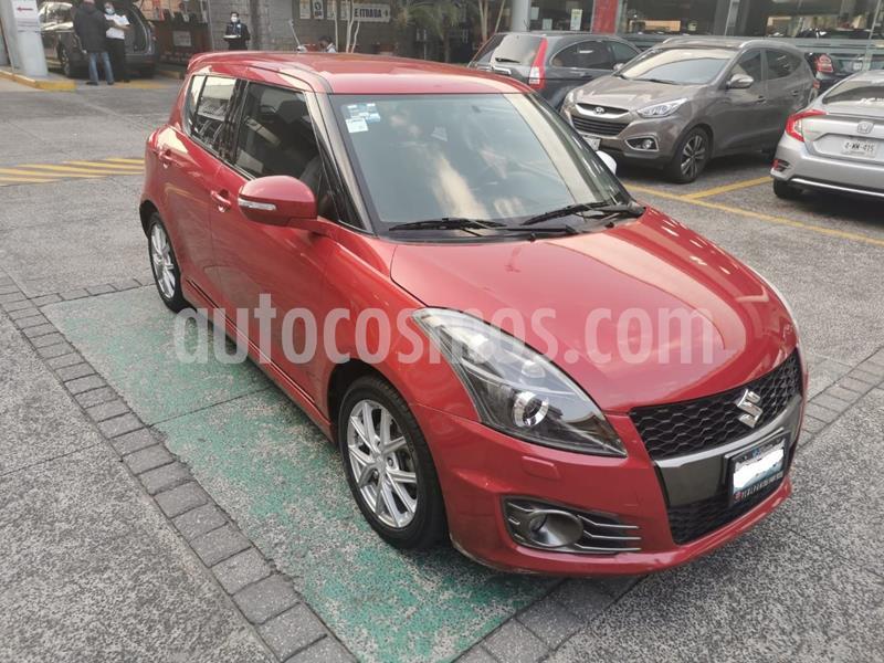 Suzuki Swift 1.5L usado (2016) color Rojo Cobrizo precio $179,000