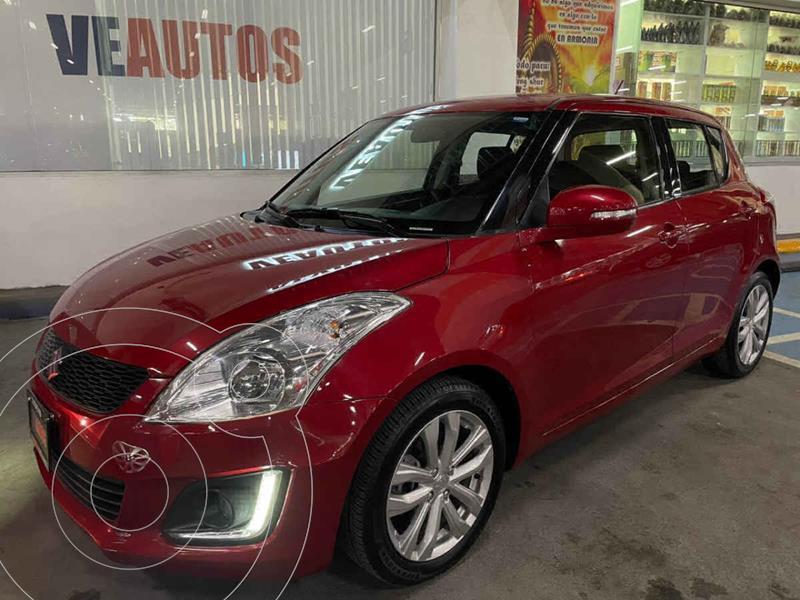 Suzuki Swift GLX Aut usado (2015) color Rojo precio $165,000