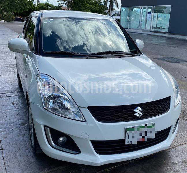 Suzuki Swift GLS usado (2017) color Blanco precio $160,000