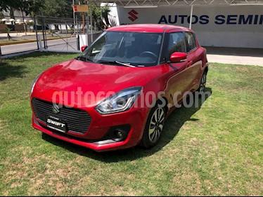 Suzuki Swift GLX Aut usado (2020) color Rojo precio $267,000