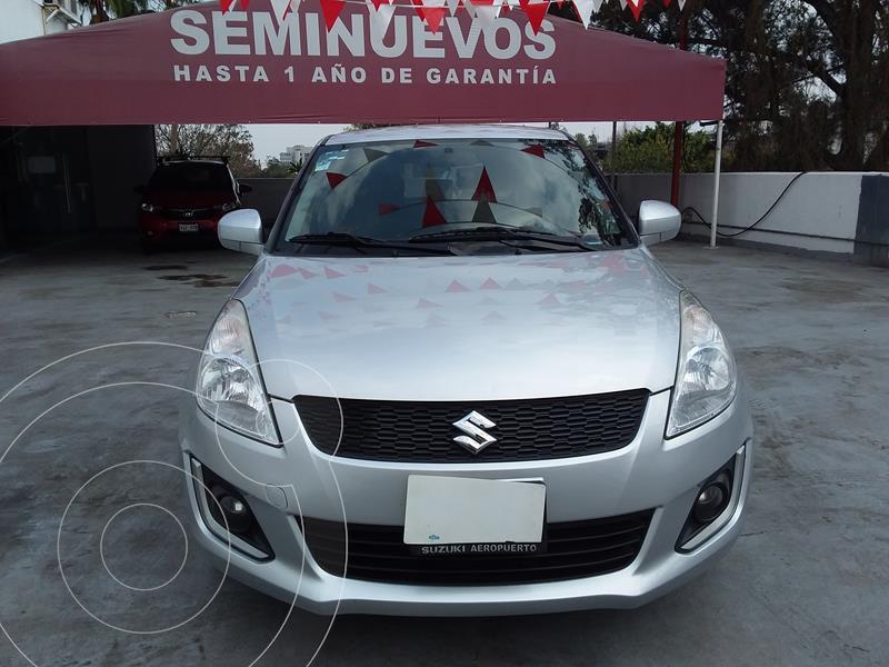 Suzuki Swift GLS usado (2017) color Plata precio $155,000