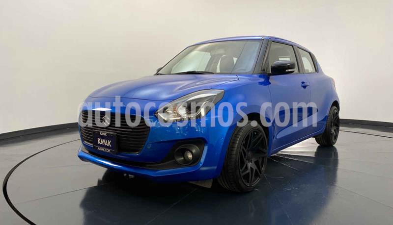 Suzuki Swift Booster Jet Aut usado (2018) color Azul precio $249,999