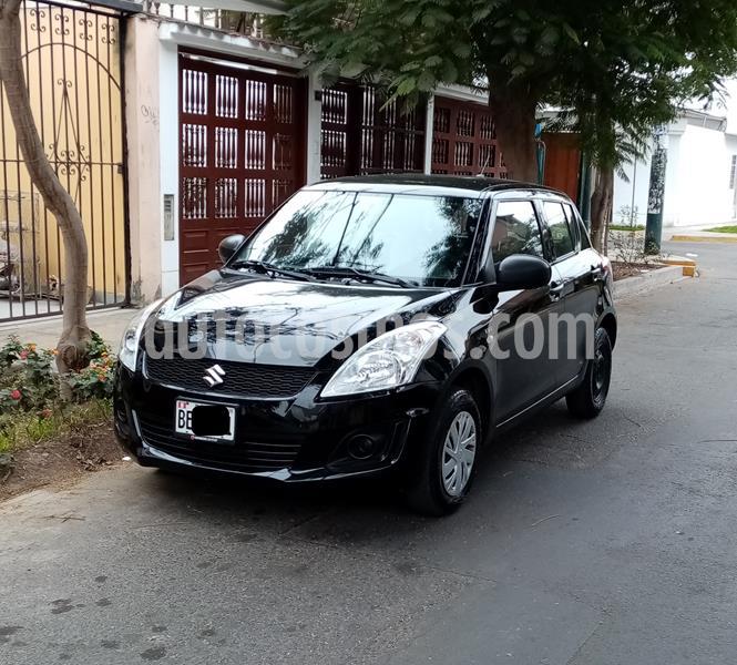 Suzuki Swift 1.2 GA AC usado (2017) color Negro precio u$s8,800