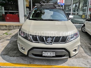 Suzuki Vitara Boosterjet Aut usado (2018) color Crema precio $349,990