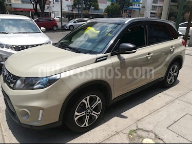Foto venta Auto usado Suzuki Vitara GLX Aut (2018) color Crema precio $289,000