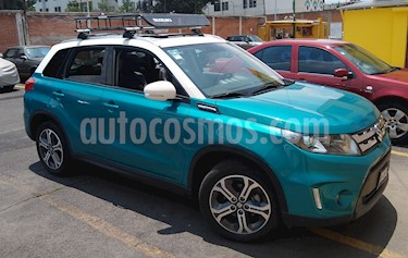 Suzuki Vitara GLX Aut usado (2018) color Azul precio $320,000