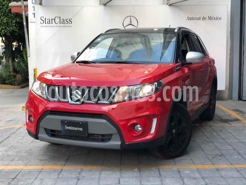 Suzuki Vitara Boosterjet usado (2018) color Rojo precio $295,000