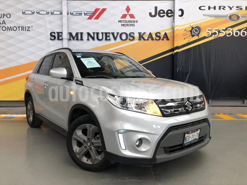 Suzuki Vitara GLS Aut usado (2017) color Plata Dorado precio $250,000