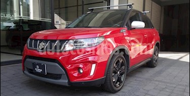 Suzuki Vitara 5P TURBO L4 1.4T AT F. LED GPS RA-17 usado (2017) color Rojo precio $268,000