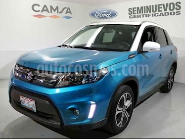 Suzuki Vitara 5p GLX L4/1.6 Aut usado (2017) color Azul precio $275,900