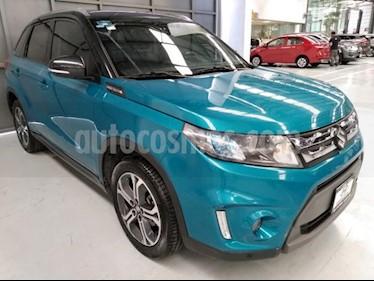 Suzuki Vitara 5P GLX L4 1.6L TA F. LED QCP GPS RA-17 usado (2016) color Azul precio $245,000