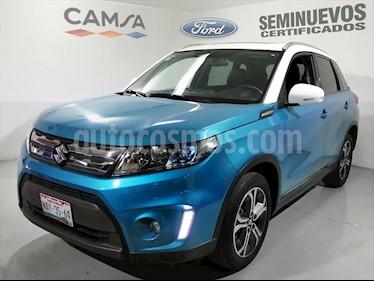 Suzuki Vitara GLX Aut usado (2017) color Azul Electrico precio $275,900