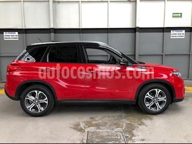 Suzuki Vitara 5P GLX L4 1.6L TA F. LED QCP GPS RA-17 usado (2016) color Rojo precio $240,000