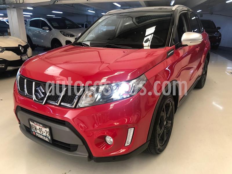 Suzuki Vitara Boosterjet usado (2017) color Rojo precio $254,100