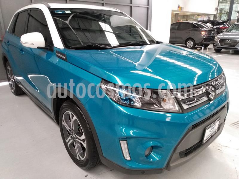 Suzuki Vitara GLX Aut usado (2017) color Azul precio $263,900