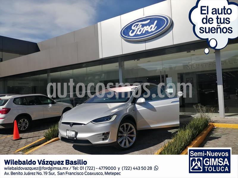 Tesla Model X P100D usado (2017) color Plata precio $2,090,000