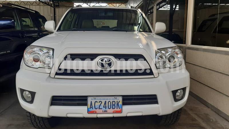 Toyota 4Runner 4x4 Limited usado (2007) color Blanco precio BoF24.500