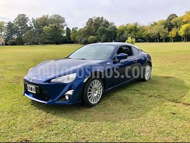 Toyota 86 FT usado (2013) color Azul precio u$s17.900