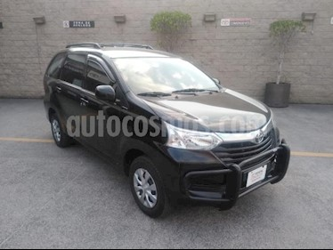 Toyota Avanza 5P LE TM5 A/AC. BA R-14 usado (2018) color Negro precio $185,000