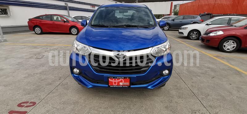 Toyota Avanza XLE Aut usado (2018) color Azul precio $230,000