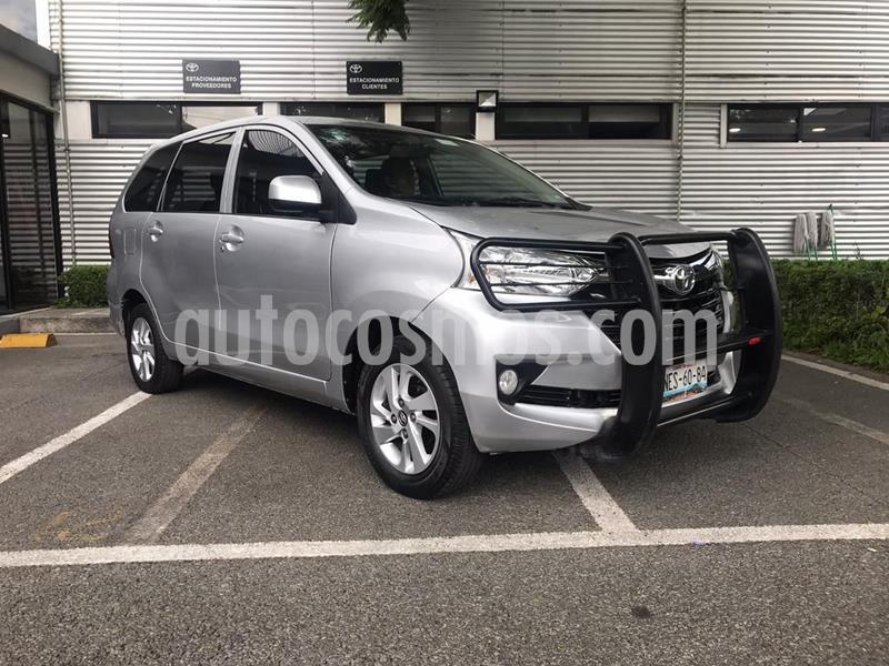 Toyota Avanza XLE Aut usado (2017) color Plata precio $195,000
