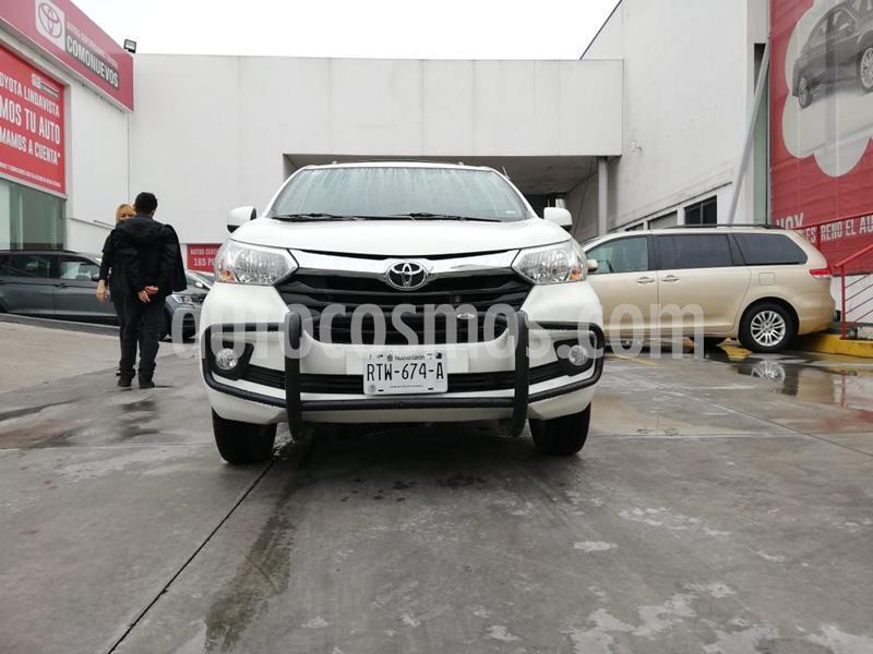 Toyota Avanza XLE Aut usado (2018) color Blanco precio $230,000