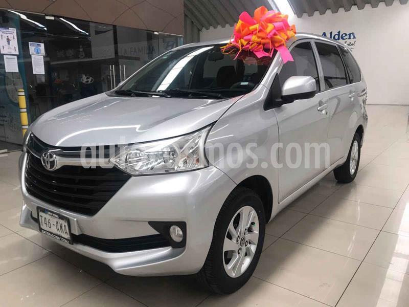 Toyota Avanza XLE Aut usado (2017) color Plata precio $190,000