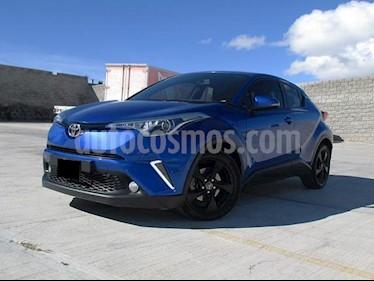 Foto Toyota C-HR 2.0L usado (2018) color Azul precio $348,000