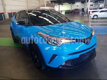 Toyota C-HR 2.0L usado (2019) color Azul precio $349,000