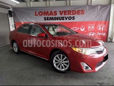 Foto venta Auto usado Toyota Camry 4p XLE V6/3.5 Aut (2014) color Rojo precio $198,000
