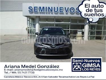 Foto venta Auto usado Toyota Camry LE 2.4L (2018) color Gris precio $340,000