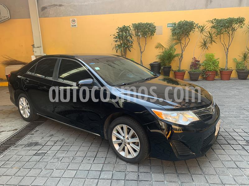 Toyota Camry LE 2.5L usado (2012) color Negro precio $150,000