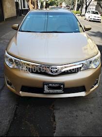 Toyota Camry XLE 2.5L Navegacion usado (2012) color Champagne precio $160,000