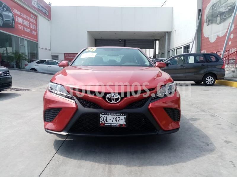 Toyota Camry SE 2.5L usado (2020) color Rojo precio $430,000