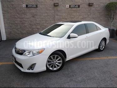 Toyota Camry 4P XLE L4 TA CLIMATRONIC PIEL QC GPS usado (2014) color Blanco precio $185,000