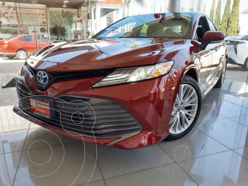 Foto Toyota Camry XLE 2.5L Navi usado (2020) color Rojo precio $597,900