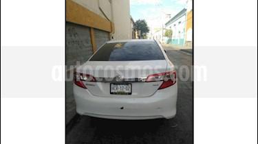 Toyota Camry XLE 2.4L usado (2012) color Blanco precio $134,500