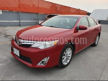Toyota Camry XLE 2.5L usado (2013) color Rojo Mica precio $149,000