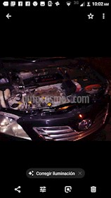 Toyota Camry XLE 2.5L Navi Hibrido usado (2007) color Negro precio $95,000