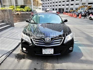 Foto venta Auto usado Toyota Camry XLE V6 (2011) color Negro precio $110,000