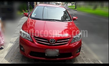 Toyota Corolla  1.6 GLI Aut usado (2013) color Rojo precio u$s12,500
