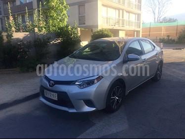 Toyota Corolla 1.8 GLi Aut  usado (2017) color Plata precio $6.990.000