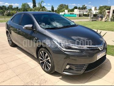 Foto venta Auto usado Toyota Corolla 1.8 SE-G CVT (2019) color Gris Oscuro precio $950.000