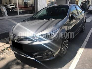 Foto venta Auto usado Toyota Corolla 1.8 SE-G CVT (2018) color Gris Oscuro precio $850.000