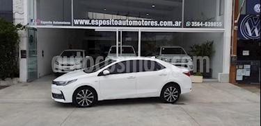 Foto venta Auto usado Toyota Corolla 1.8 SE-G CVT (2017) color Blanco precio $1.160.000