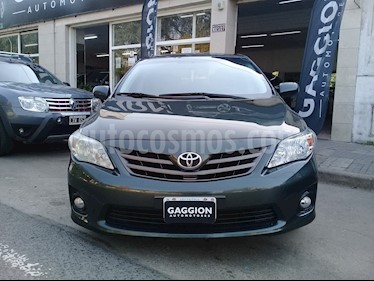 Foto venta Auto usado Toyota Corolla 1.8 XEi Aut (2012) color Verde Oscuro