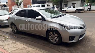 Foto venta Auto usado Toyota Corolla 1.8 XEi CVT (2014) color Gris Plata  precio $590.000