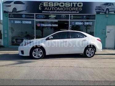 Foto venta Auto usado Toyota Corolla 1.8 XEi Pack CVT (2016) color Blanco precio $570.000