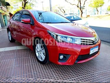 Foto venta Auto usado Toyota Corolla 1.8 XEi Pack CVT (2016) color Rojo precio $849.990