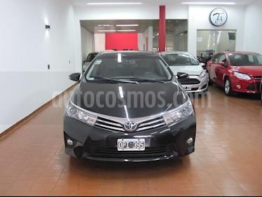 Toyota Corolla 1.8 XEi usado (2015) color Negro precio $670.000